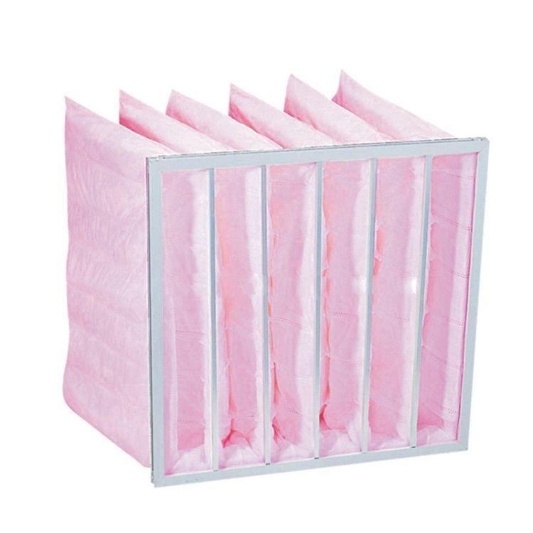 厂家供应 无纺布中效袋式过滤器 空调袋式过滤器 袋式过滤网