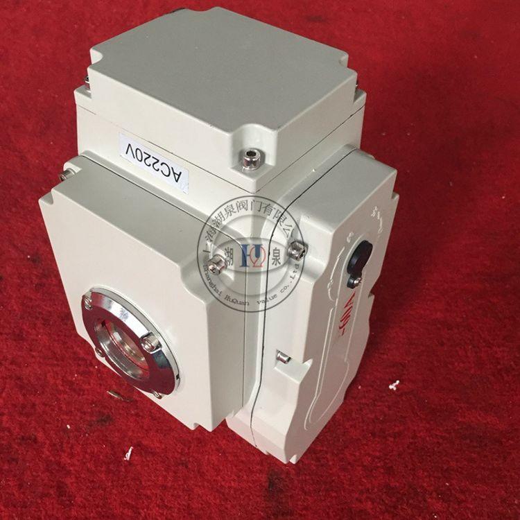 HQ-20精小型电动执行器 配蝶阀球阀用角行程电动执行机构厂家直销