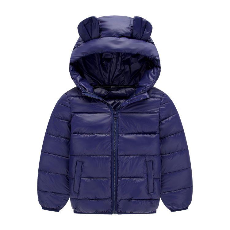秋冬款儿童轻薄羽绒棉服童小耳朵连帽羽绒服量大从优质量厂家直销