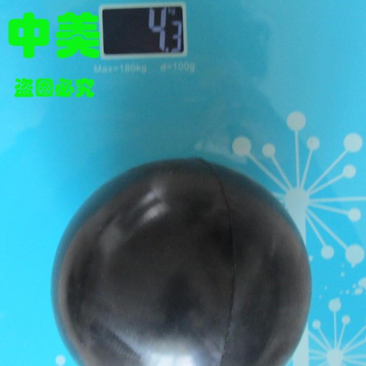 厂家专业生产定做各种重量级橡胶球包铁橡胶球带孔橡胶球价格优惠