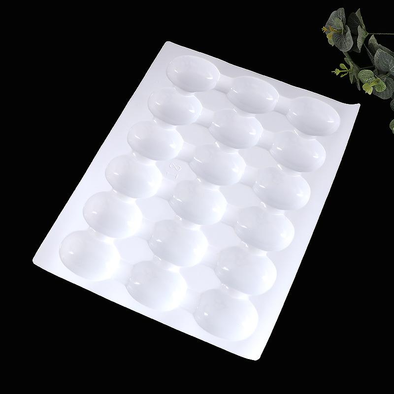 厂家直销PET白色吸塑托盘鸡蛋塑料托盘 食品包装盒吸塑内托 定制