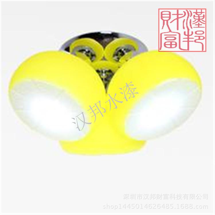 汉邦水性色浆 用于各材质表面装饰着色 HB-AY06水性柠檬黄色浆