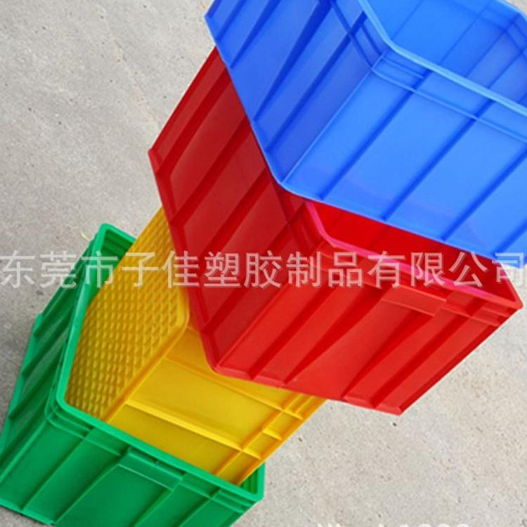 周转箱 车间加厚特大号塑胶无盖包装周转箱 仓储高强度塑料周转箱