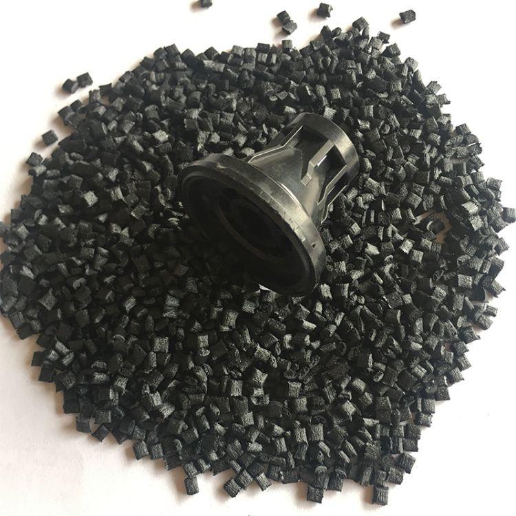 黑色 pps 1130A1耐高温注塑汽车零件配件高刚性塑胶颗粒 PPS 原料