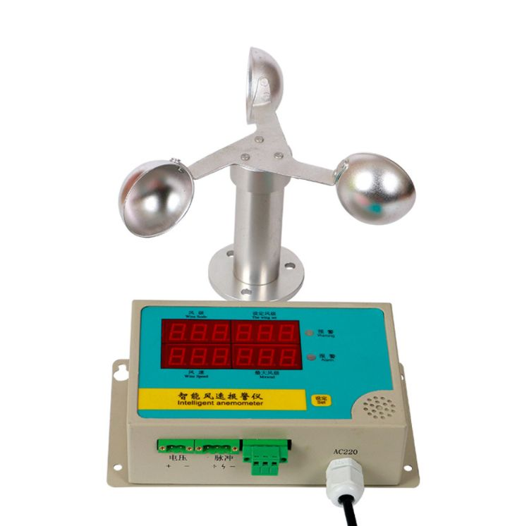 测风仪速报警仪塔吊风速仪测风速仪塔机风速仪厂家直销塔机风速仪