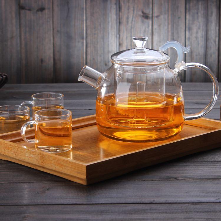 大容量高硼硅耐热玻璃茶壶 玻璃泡茶壶 电陶炉耐热煮茶壶