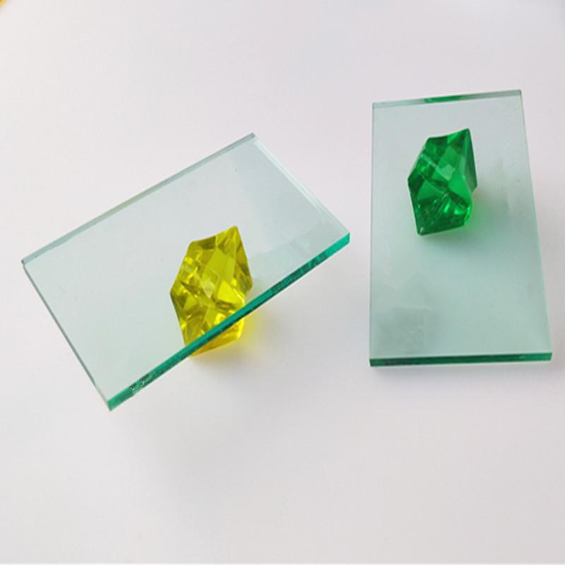 8mm玻璃青 亚克力板 浅青色半透明有机玻璃板 玻璃青透明亚克力板