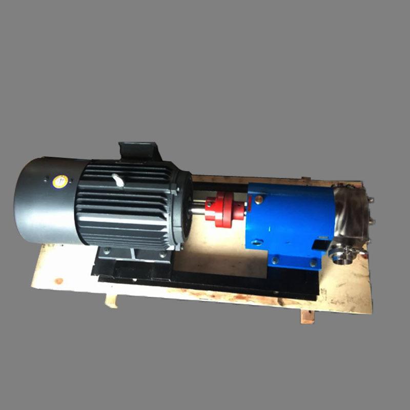 3rp转子泵凸轮高粘度转子泵 卧式电动泵高粘度不锈钢泵 转子泵