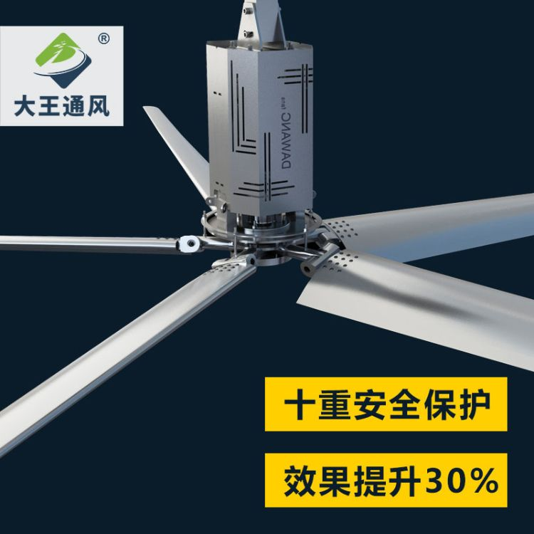 超大型工业吊扇 厂房车间仓库大型工业风扇吊扇 大功率节能工业扇