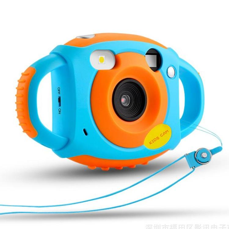 儿童数码照相机软胶防摔500万相机早教益智宝宝礼物玩具相机