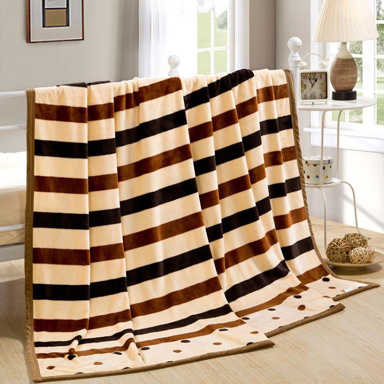 2018秋冬保暖 云貂绒床上用品法兰绒毛毯 加厚毯子空调毯裸婚时代