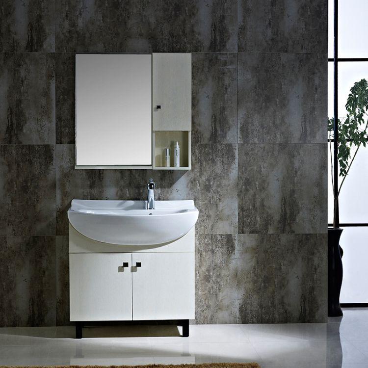实木大肚盆浴室柜卫浴柜洗脸盆柜卫生间大容量洗手盆洗漱台组合