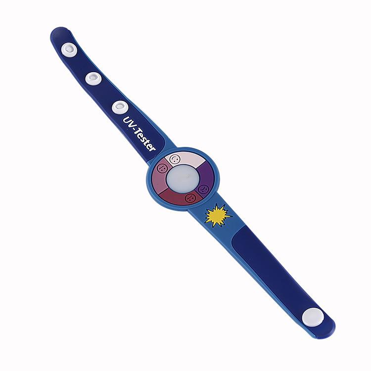 彩印卡通UV手环 PVC软胶手腕带 广告礼品手环 可来样定制