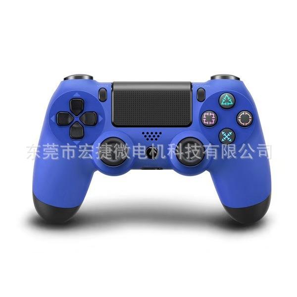 厂家直销游戏手柄爆款一件代发ps4雪花按键有线游戏手柄PS4