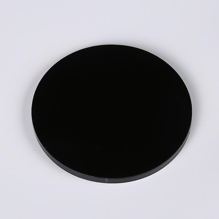 黑色亚克力板 厚�\色有机玻璃板定制 压克力板加工 生产供应