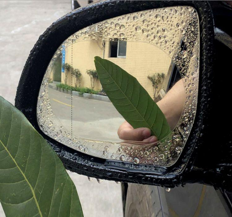 汽车后视镜防水膜下雨天有效驱水防雨防止产生汽雾汽车疏水膜批发