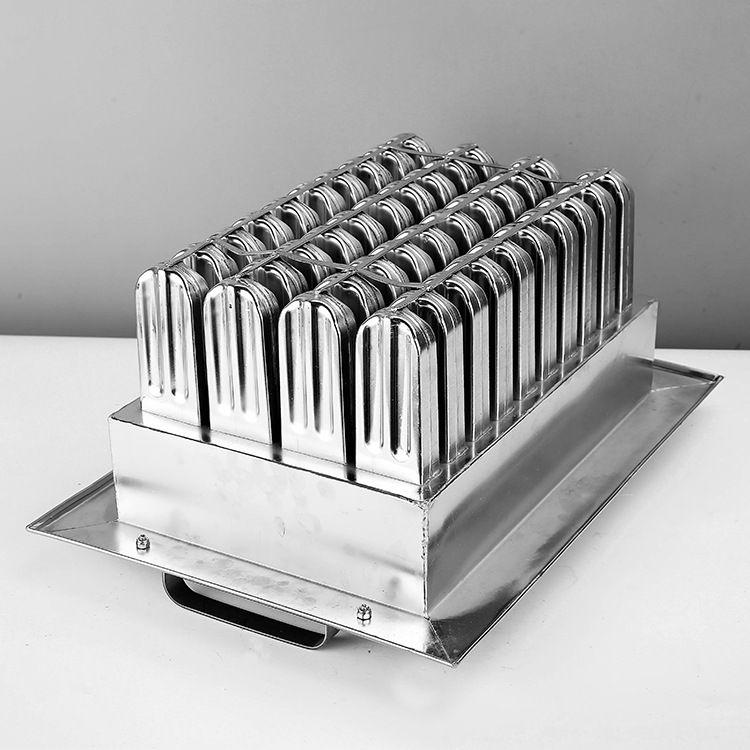 新锦华 40支不锈钢自制DIY冰格冰棒模冰棍模冰激凌冰棒雪糕模具3