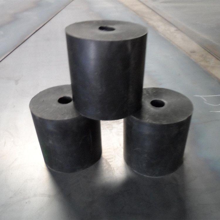 厂家直销橡胶减震块型号齐全 支持定制圆柱形橡胶弹簧 缓冲减震块