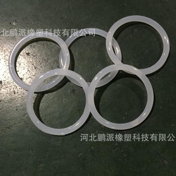 厂家定制透明o型硅胶密封圈  耐高温硅胶密封圈  红色硅胶密封圈