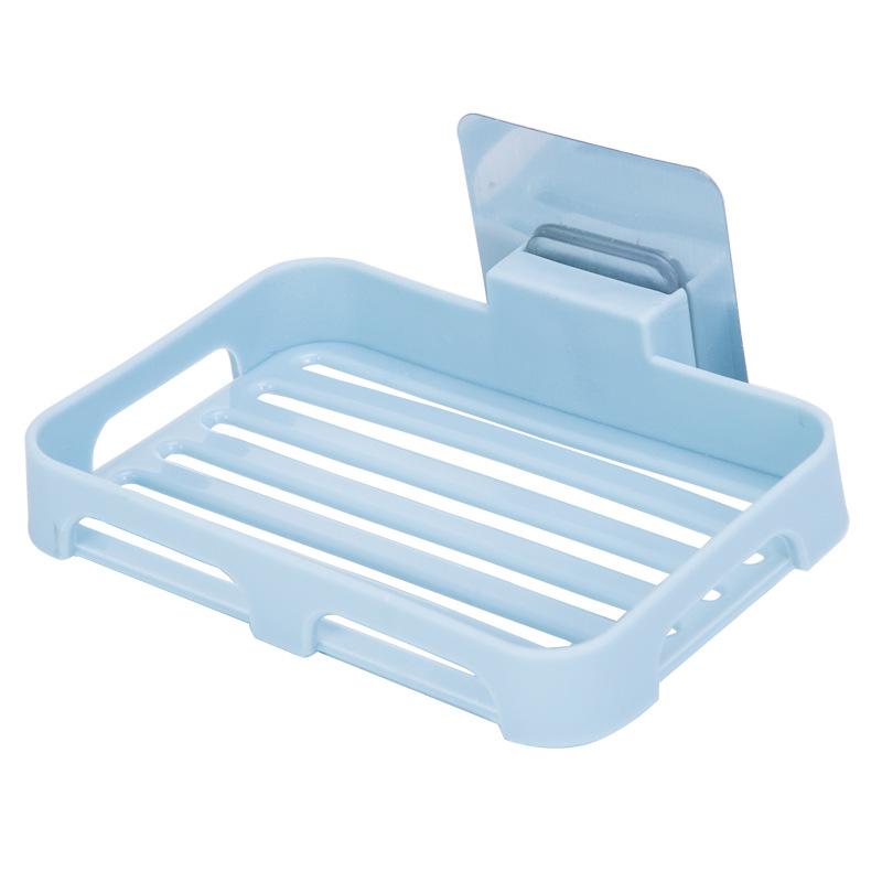吸壁式无痕贴单层香皂盒皂托 卫生间沥水香皂架肥皂盒壁挂肥皂架