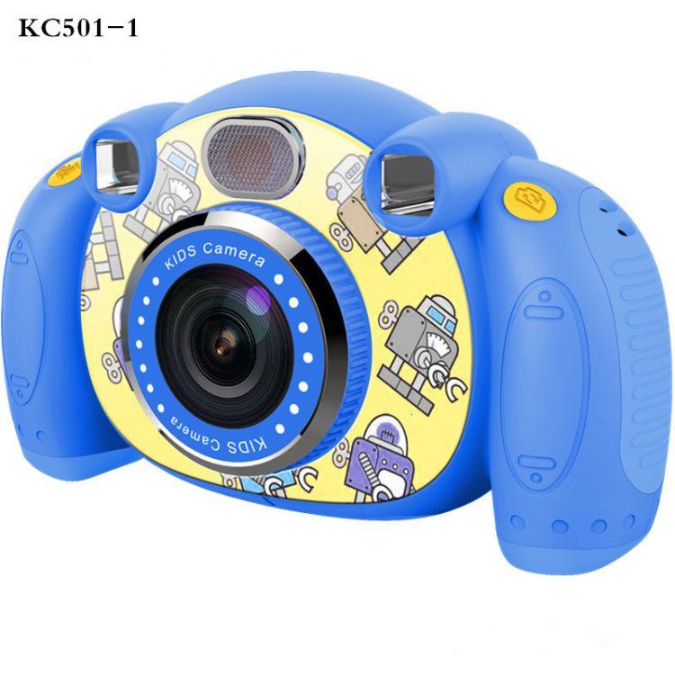 跨境热销720P�和�玩具相�C 高清大头贴拍照迷��卡通儿童�荡a相机