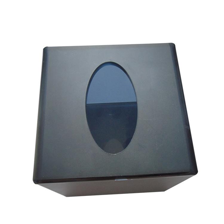 有机玻璃盒子定制 亚克力方形家居抽纸盒创意汽车纸巾收纳盒