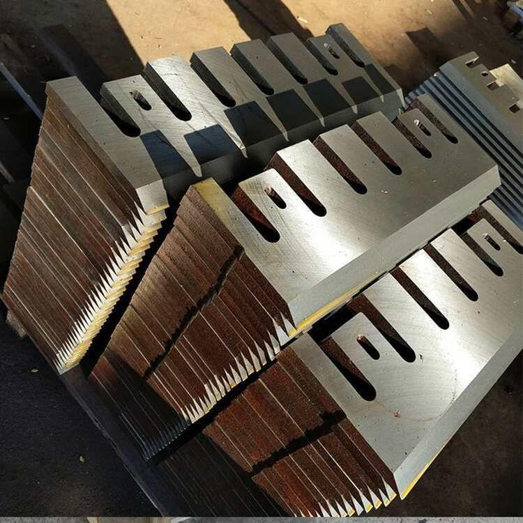 厂家供应削片机刀片 铜米机刀片 木材粉碎机刀片非标刀片来图定做