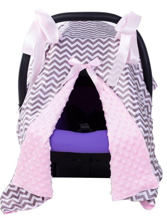 亚马逊热销婴儿提篮式座椅遮阳罩推车罩 安全座椅防晒罩厂家直销