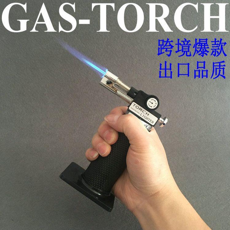 厨房烘焙西餐糖艺烧烤焊接喷火枪雪茄直充打火机高温丁烷气焊枪