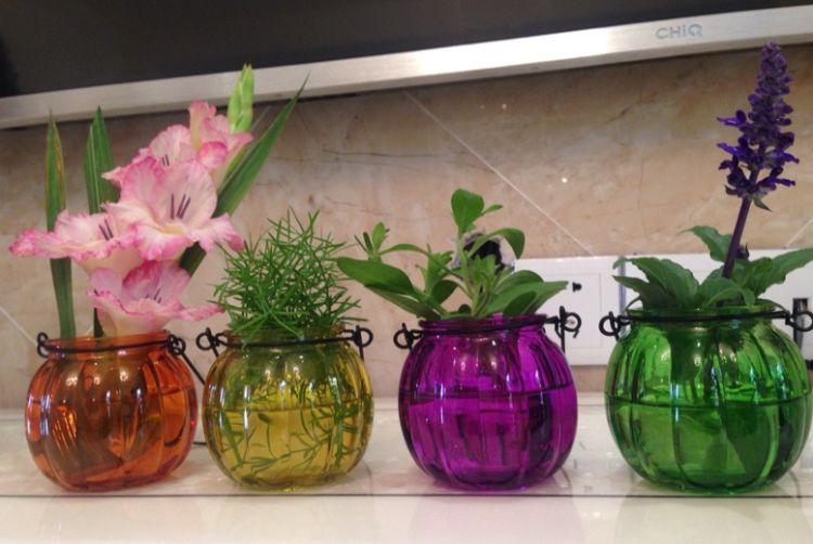 工艺玻璃 玻璃罐  手提壶  烛台灯