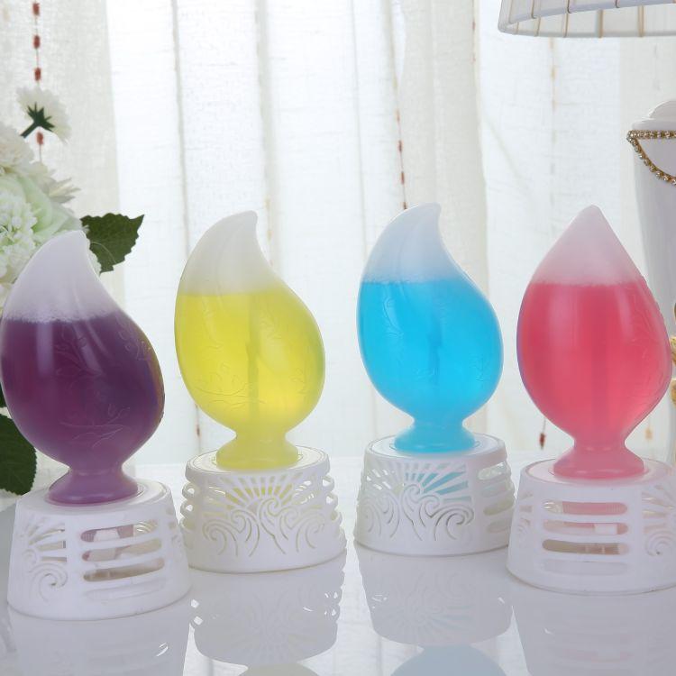 促销高档法国灯型车载香水花瓶精油香膏空气清新剂除臭剂芳香剂
