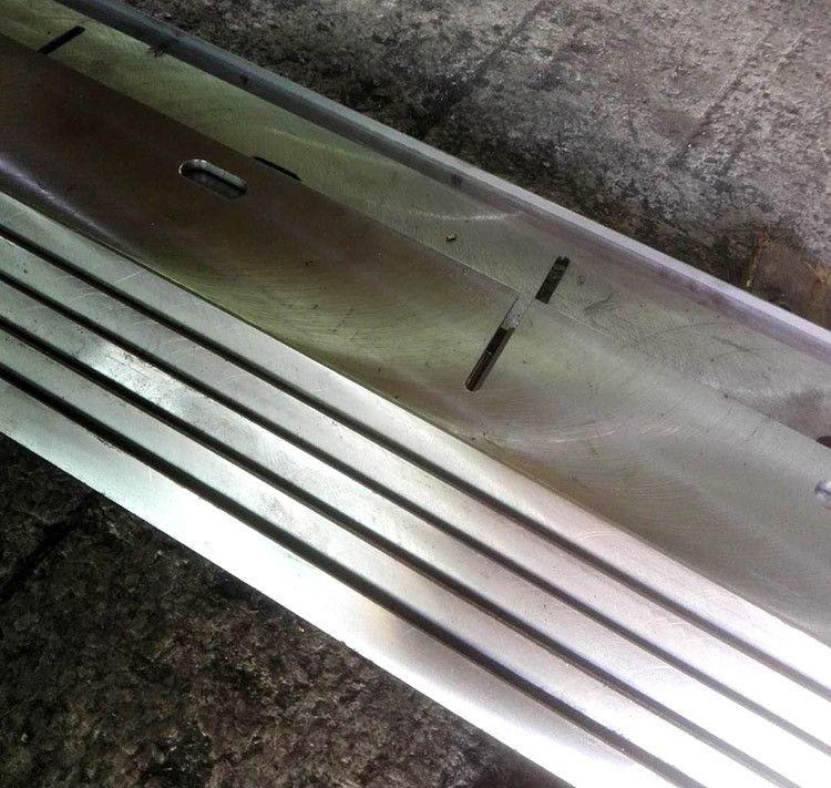 大型不锈钢刀口刀片定做 折弯机模具机床配件 异形机械刀片机加工