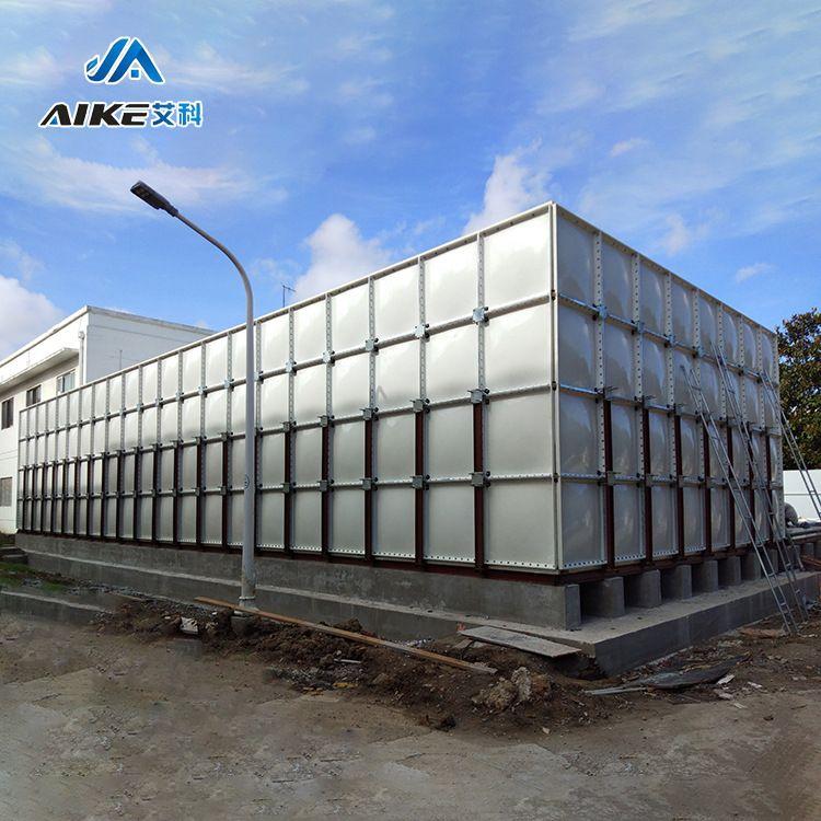 艾科厂家水箱供应 SMC玻璃钢组合式水箱 安装便捷随意组合