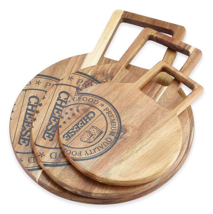 天然環保抗菌耐用相思木食物盤托盤杯托砧板菜板A