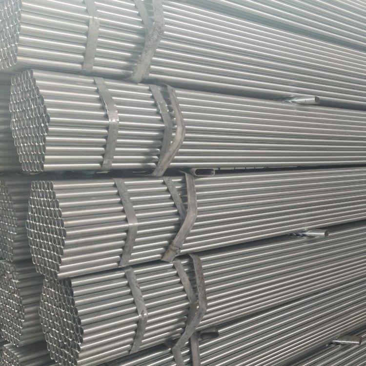 大棚管6分*1.5热镀锌钢管大棚 大棚钢架