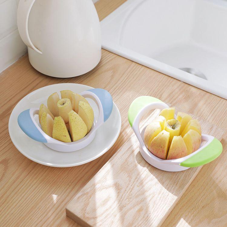 1156不锈钢切苹果器 苹果切 切果器 水果分割器分离器