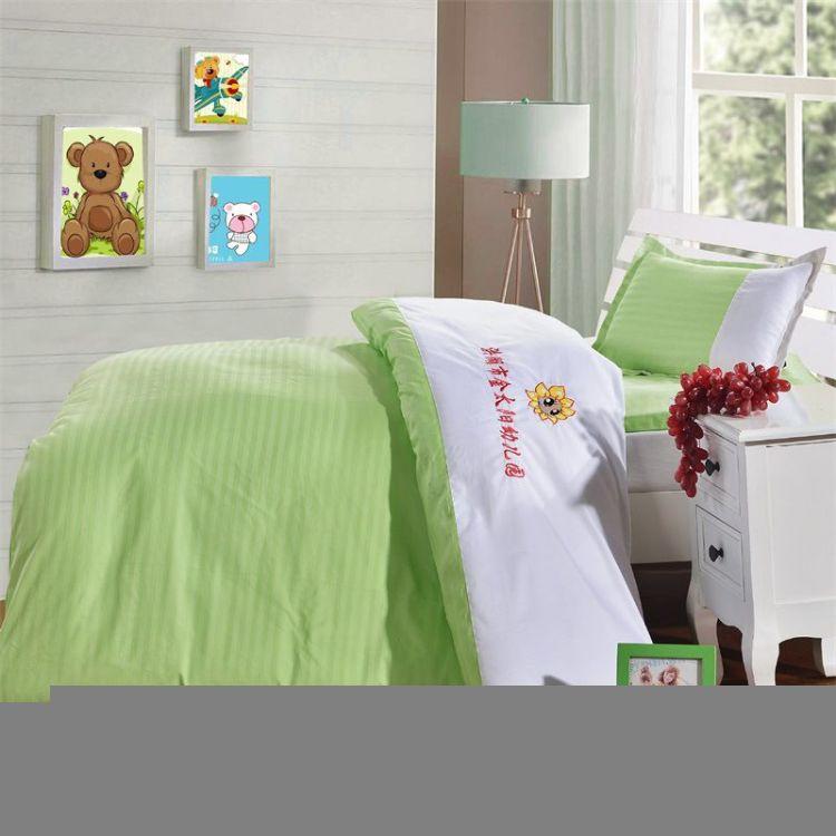 幼儿园被子三件套六件套全棉儿童棉被婴幼儿床上用品套件纯棉被褥