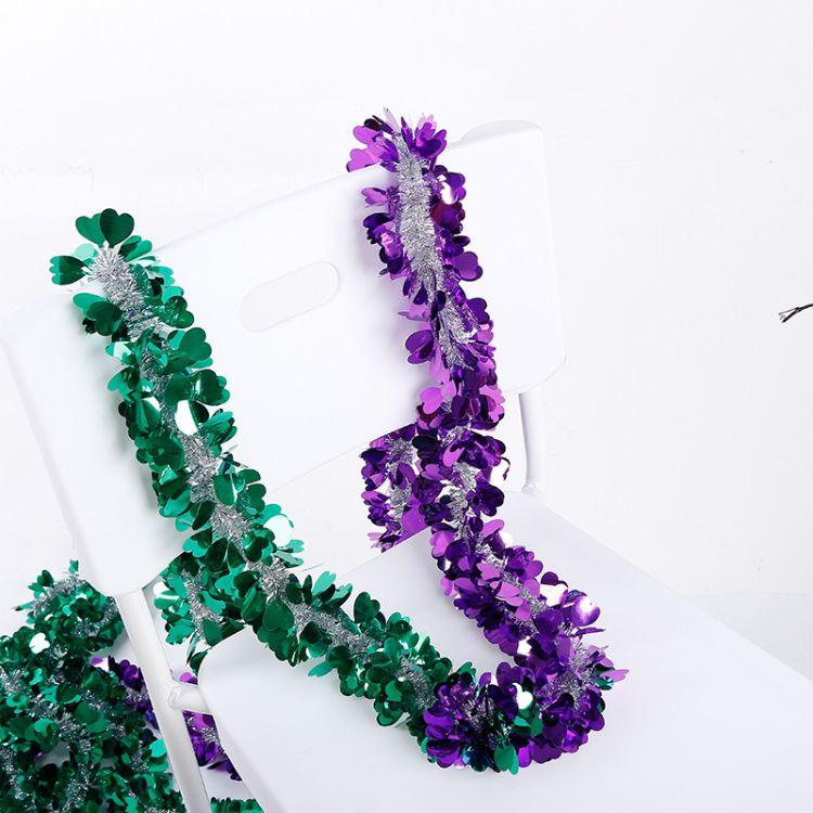 圣诞装饰工艺品 婚庆彩条拉花 pvc婚庆装塑料拉花彩带