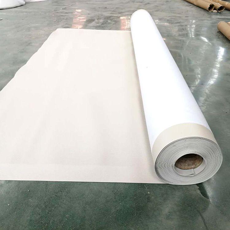 内加筋pvc防水卷材 聚氯乙烯高分子防水卷材 白色透明防水材料
