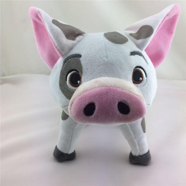 2018猪吉祥物 猪生肖 来图定制新年吉祥物 变脸猪 深圳玩具工厂