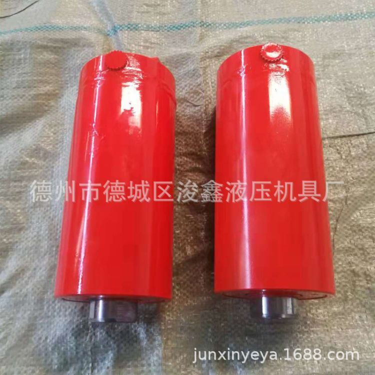 厂家供应小吨位液压油缸300吨卧式法兰油缸 定做电动液压泵站油缸