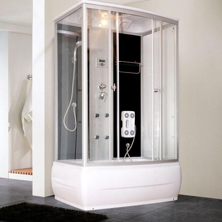 新世爵淋浴房整体家用浴室简易隔断长方形封闭式小户型卫生间批发
