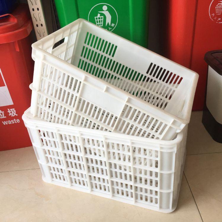厂家直销塑料周转筐4斤重大筐全新料 80斤水果蔬菜周转箱