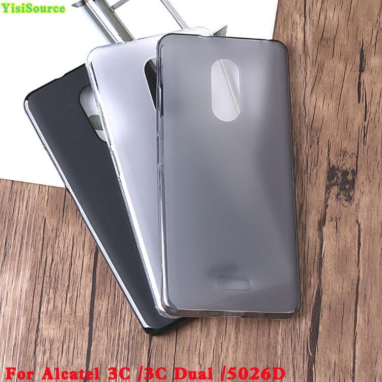 阿尔卡特Alcatel 3C手机壳 3C Dual 5026D TPU布丁套手机壳素材壳