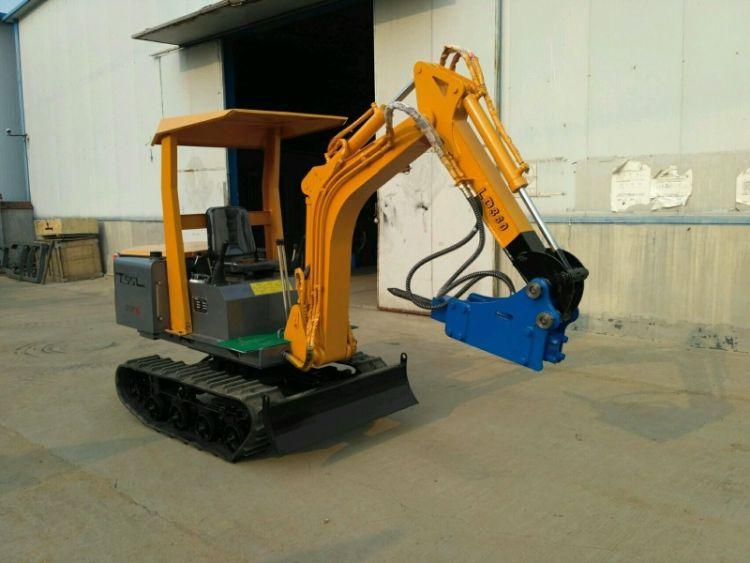 厂家出售小型挖机挖掘机360度液压电动旋转履带挖掘机小挖机.
