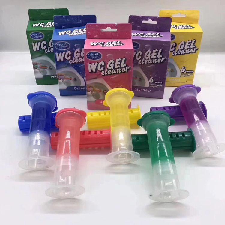 马桶清洁香氛豆洁厕灵马桶清洁剂卫生间除臭清香五色洁厕凝胶厂家