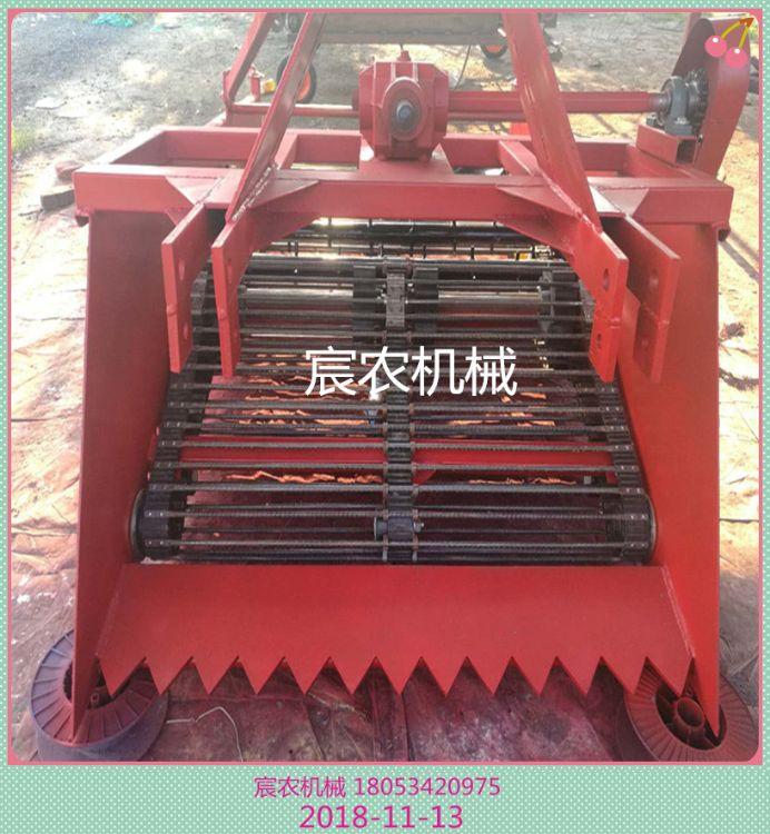 大量供应小型药材收获机 百合板蓝根挖掘机 宸农农业机械-LY