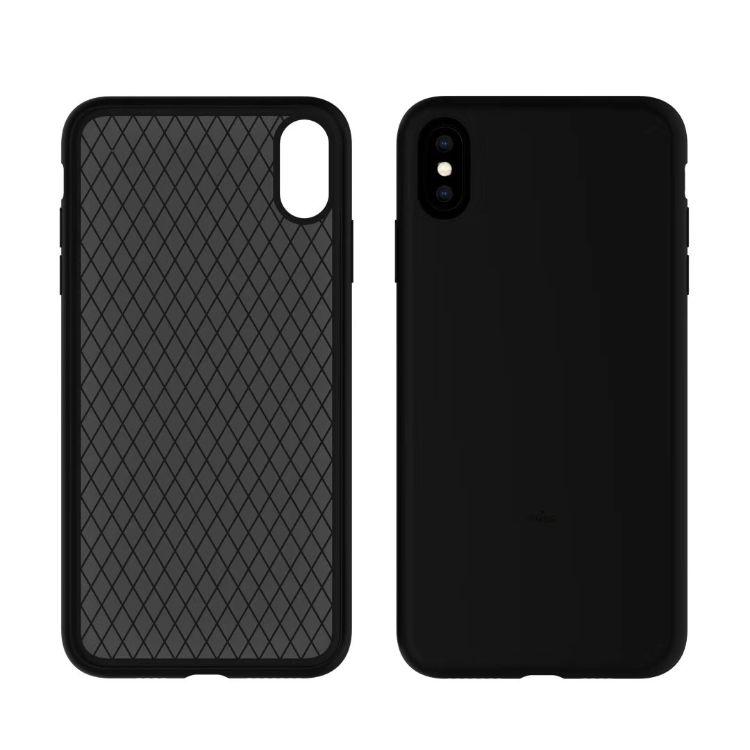 适用iPhonexs 超薄液态硅胶手机壳全包 xs max硅胶手机套