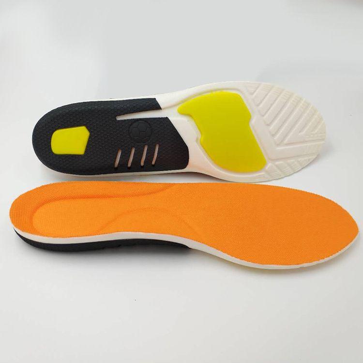 足弓支撑减震运动鞋垫防臭弹力吸汗透气军训篮球跑步运动休闲鞋垫