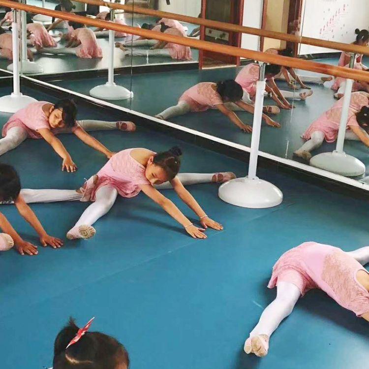 单层舞蹈把杆 落地舞蹈把杆移动式 舞蹈房健身房学校